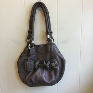 B MAKOWSKY LEATHER HOBO BAG IN EXCELLENT CONDITION